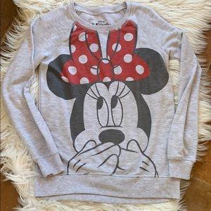 Disney Minnie Mouse Super Soft Sweatshirt 10/12 L